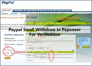 Paypal-Small-Deposite-In-Payoneer